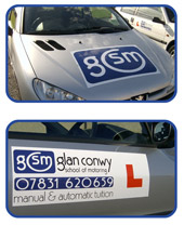 glan conwy school of motoring north wales
