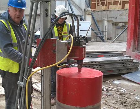diamond core drilling london